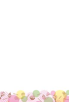 チラシ A5(フリー)デザインテンプレート0177