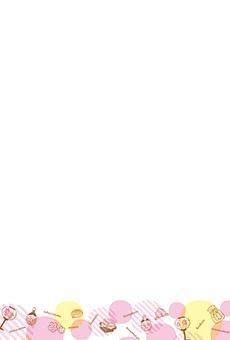 チラシ A5(フリー)デザインテンプレート0178