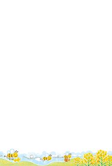 チラシ A5(フリー)デザインテンプレート0183