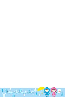 チラシ A5(フリー)デザインテンプレート0194