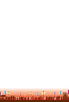 チラシ A5(フリー)デザインテンプレート0200