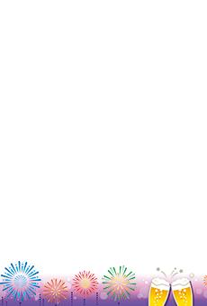 チラシ A5(フリー)デザインテンプレート0205