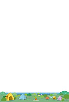 チラシ A5(フリー)デザインテンプレート0212