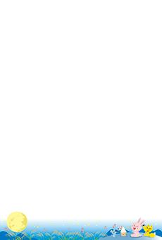 チラシ A5(フリー)デザインテンプレート0217