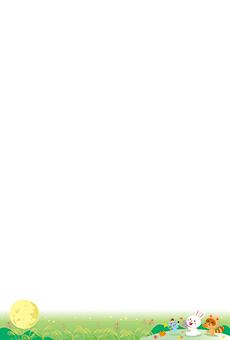 チラシ A5(フリー)デザインテンプレート0220