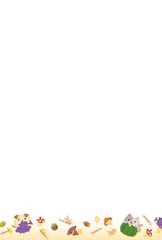 チラシ A5(フリー)デザインテンプレート0237