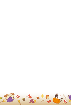 チラシ A5(フリー)デザインテンプレート0238