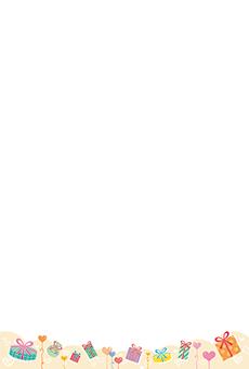 チラシ A5(フリー)デザインテンプレート0239