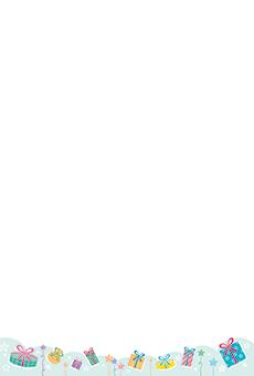 チラシ A5(フリー)デザインテンプレート0240