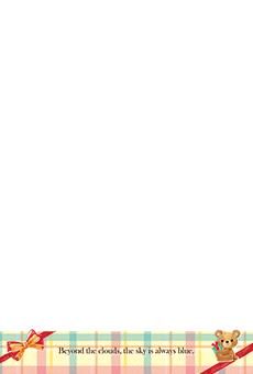 チラシ A5(フリー)デザインテンプレート0241