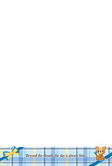 チラシ A5(フリー)デザインテンプレート0242