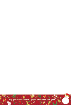 チラシ A5(フリー)デザインテンプレート0245