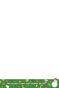 チラシ A5(フリー)デザインテンプレート0246