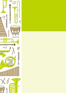 コンサート・イベントのA3ポスターのデザインテンプレート(A3のデザイン(MP-E-0023))