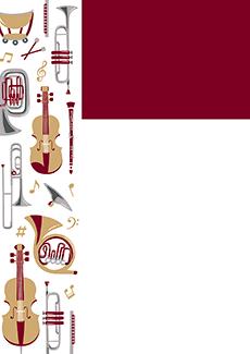 コンサート・イベントのチラシデザインテンプレート(A4チラシのデザイン(CH-E-0026))