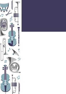 コンサート・イベントのチラシデザインテンプレート(A4チラシのデザイン(CH-E-0027))