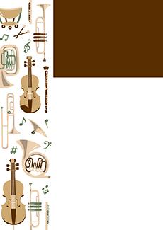 コンサート・イベントのチラシデザインテンプレート(A4チラシのデザイン(CH-E-0028))
