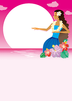 ダンス・バレエのイベントチラシデザインテンプレート