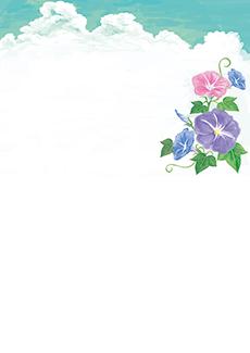 夏・七夕・ひまわり・星空・水族館・イベントのチラシデザインテンプレート(A4チラシのデザイン(CH-E-0119))