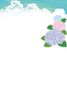 夏・七夕・ひまわり・星空・水族館・イベントのチラシデザインテンプレート(A4チラシのデザイン(CH-E-0120))