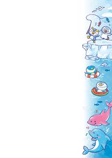 夏・七夕・ひまわり・星空・水族館・イベントのチラシデザインテンプレート(A4チラシのデザイン(CH-E-0124))