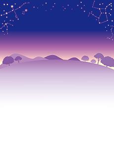 夏・七夕・ひまわり・星空・水族館・イベントのチラシデザインテンプレート(A4チラシのデザイン(CH-E-0126))
