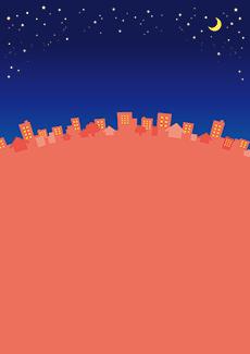 夏・七夕・ひまわり・星空・水族館・イベントのチラシデザインテンプレート(A4チラシのデザイン(CH-E-0127))