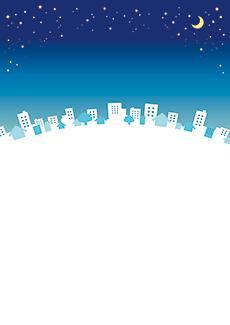 夏・七夕・ひまわり・星空・水族館・イベントのチラシデザインテンプレート(A4チラシのデザイン(CH-E-0128))