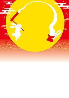 秋・ハロウィーン・紅葉・お月見・イベントのチラシデザインテンプレート(A4チラシのデザイン(CH-E-0144))