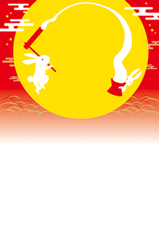 秋・ハロウィーン・紅葉・お月見・イベントのA3ポスターのデザインテンプレート(A3のデザイン(MP-E-0144))
