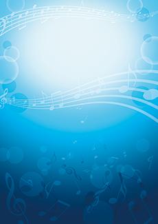 コンサート・イベントのチラシデザインテンプレート(A4チラシのデザイン(CH-E-0177))