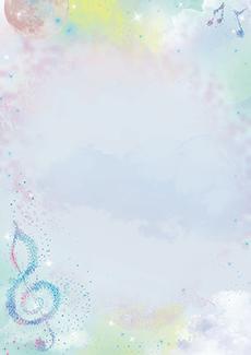 コンサート・イベントのA3ポスターのデザインテンプレート(A3のデザイン(MP-E-0235))