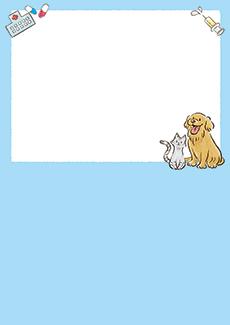 動物病院 集客チラシ_デザインテンプレート画像0021