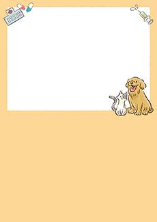 動物病院 集客チラシ_デザインテンプレート画像0022