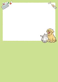 動物病院 集客チラシ_デザインテンプレート画像0023