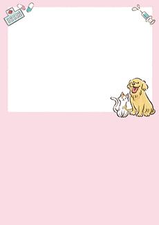 動物病院 集客チラシ_デザインテンプレート画像0024
