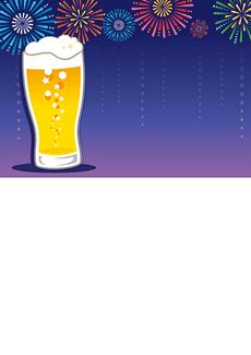 夏祭り・ビアガーデン 集客チラシ_デザインテンプレート画像0053