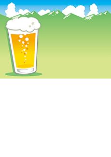 夏祭り・ビアガーデン 集客チラシ_デザインテンプレート画像0055