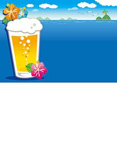 夏祭り・ビアガーデン 集客チラシ_デザインテンプレート画像0056