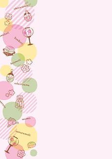 ひな祭り・桃の節句 集客チラシ_デザインテンプレート画像0101