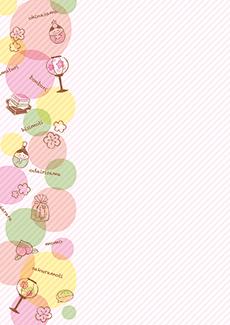 ひな祭り・桃の節句 集客チラシ_デザインテンプレート画像0102