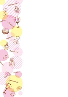 ひな祭り・桃の節句 集客チラシ_デザインテンプレート画像0103