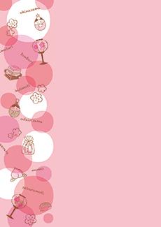 ひな祭り・桃の節句 集客チラシ_デザインテンプレート画像0104