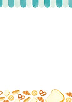 パン屋・ベーカリー 集客チラシ_デザインテンプレート画像0129