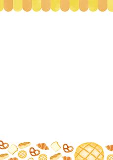 パン屋・ベーカリー 集客チラシ_デザインテンプレート画像0130