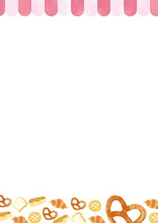 パン屋・ベーカリー 集客チラシ_デザインテンプレート画像0131