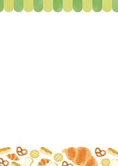 パン屋・ベーカリー 集客チラシ_デザインテンプレート画像0132
