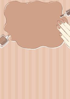 ネイルサロン 集客チラシ_デザインテンプレート画像0150