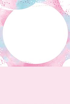 DMはがき通信面_デザインテンプレート画像0285