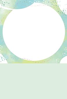 DMはがき通信面_デザインテンプレート画像0286